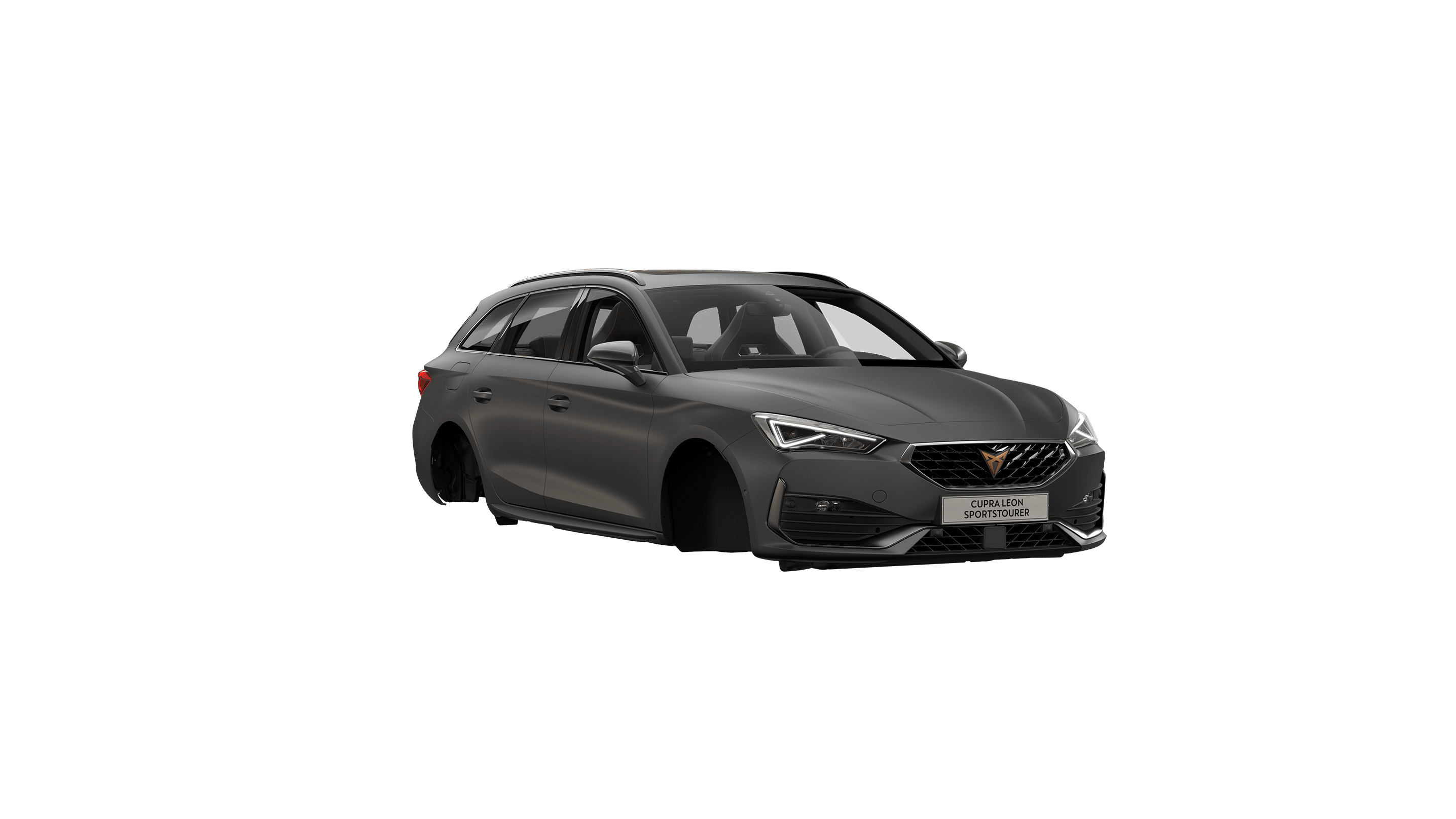 new CUPRA Leon Sportstourer ehybrid Family Sports Car available in magnetic tech matte colour